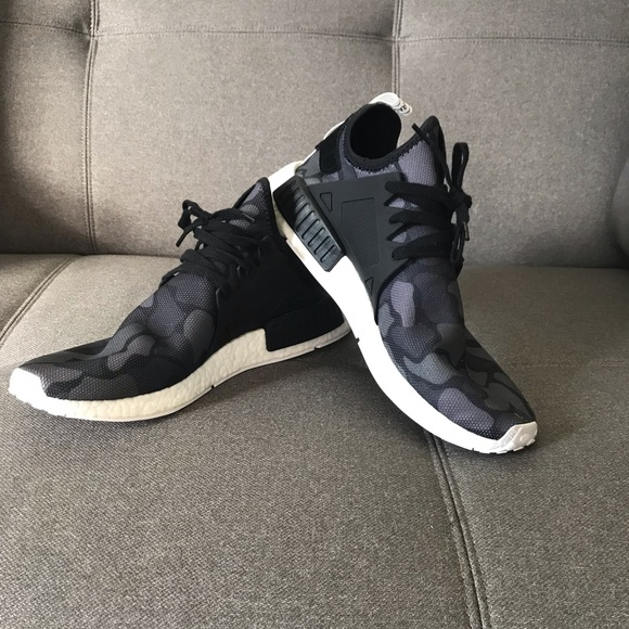 sale retailer 596e9 188af Men's NMD XR1 black camo